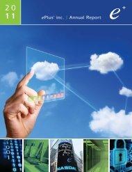 2011 Annual Report - ePlus