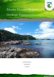 Akeake Historic Reserve  heritage assessment - Department of ...