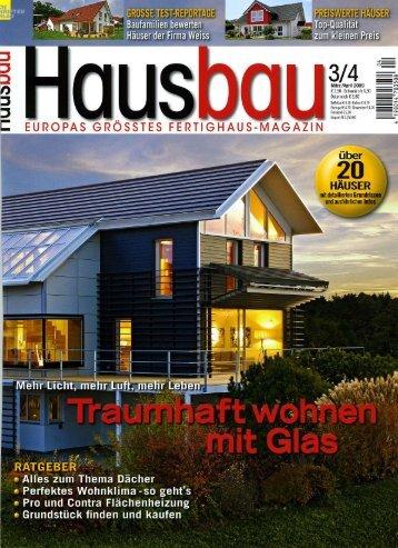 Hausbau - Fertighaus Weiss GmbH