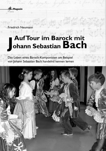 AufTour im Barock mit Johann Sebastian Bach (Friedrich - AfS