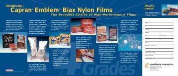 Biax Nylon Films