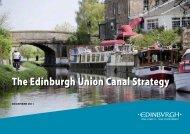 The Edinburgh Union Canal Strategy - City of Edinburgh Council