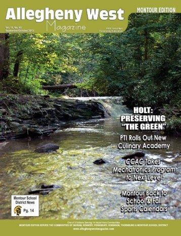 gyhuwlvhuv - Allegheny West Magazine