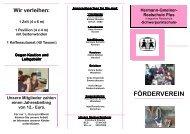 Info-Flyer-F\366rderverein M\344rz 2007 - Hermann-gmeiner-schule ...