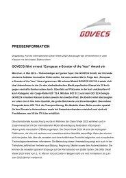 """""""European e-Scooter of the Year""""-Award - München für Klimaschutz"""