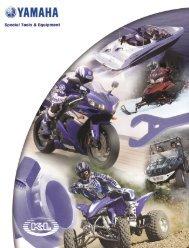 Yamaha Special Tools Catalog - Yamaha of Cucamonga
