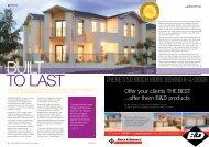 BuILT To LasT - Australia's Best Magazines