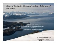Download PDF (7.87 MB) - State of the Arctic 2010