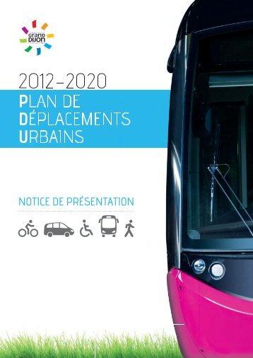 PLAN DE DÉPLACEMENTS URBAINS - le Grand Dijon