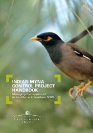 indian myna control project handbook - Coffs Harbour City Council