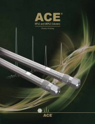 ACE Product Catalog - MAC-MOD Analytical Inc.