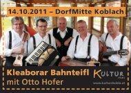 Postkarte downloaden (.pdf) - Kultur z'Kobla