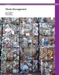 chapter 7 - waste management - Arab Forum for Environment and ...