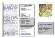 Flyer 2013 Teil 2 - Kölnische Gesellschaft für christlich-jüdische ...