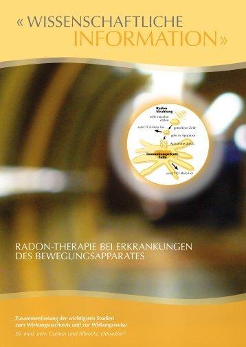 Wissenschaftliche Info deutsch.pdf - Gasteiner Heilstollen
