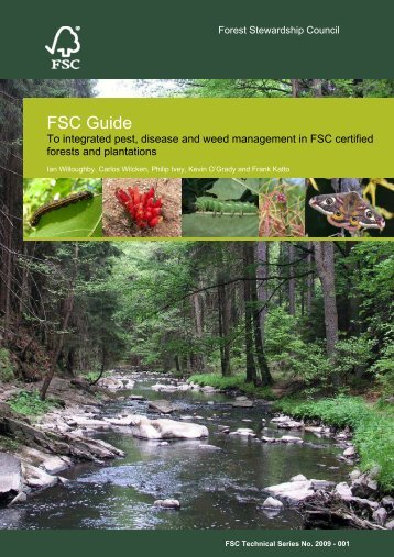 FSC Guide to integrated pest, disease and weed management in ...