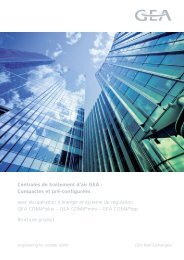Brochure commerciale CTA Compactes - GEA Happel