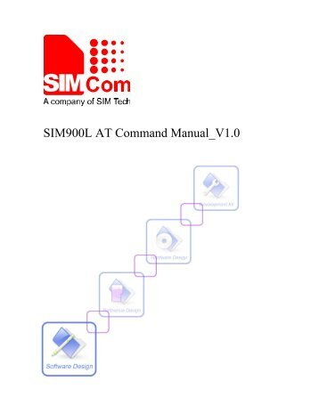 SIM900L AT Command Manual V1