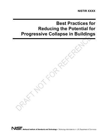 Design Of Buildings To Resist Progressive Collapse