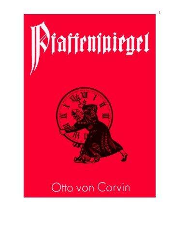 Otto von Corvin: Pfaffenspiegel - Wieviel »Gleichberechtigung ...