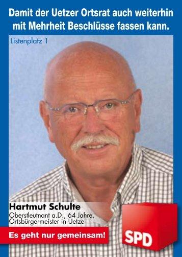 Damit der Uetzer Ortsrat auch weiterhin mit Mehrheit Beschlüsse ...