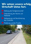Damit der Uetzer Ortsrat auch weiterhin mit Mehrheit Beschlüsse ... - Seite 2