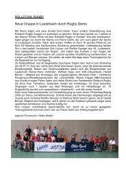 FC ROLLSTUHL RUGBY - Frontcourt