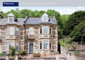 6 Coburg Villas, Camden Road, Bath, BA1 5JF - Winkworth