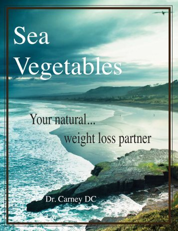 FREE E-Book on Sea Vegetables and Weight Loss! - Earth Transitions