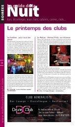 Le printemps des clubs - JDS.fr