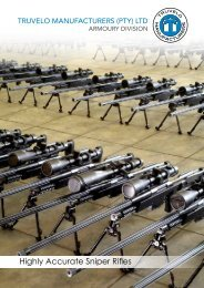 Truvelo manufacturers (pty) - Military Systems & Technology