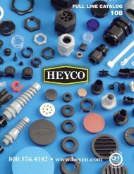 9940Heyco1:8461 sect 0 - Electronic Fasteners Inc