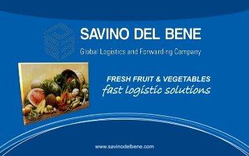 SDB Presentation for Fresh Product - Savino Del Bene