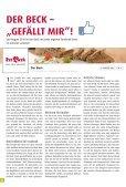 Das neue, pfiffige Gastronomie konzept von Der Beck - Page 4
