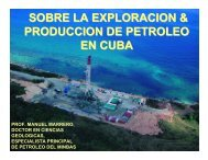 Sobre la Exploración y Producción de Petróleo en Cuba