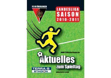 Heft 13 10-11:Heft 08 FC Ueberlingen.qxd - FC 09 Ãœberlingen e.V.
