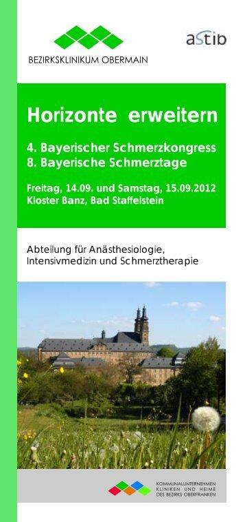Horizonte erweitern - Kommunalunternehmen Kliniken und Heime ...