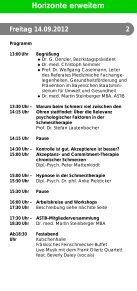 Horizonte erweitern - Kommunalunternehmen Kliniken und Heime ... - Seite 3