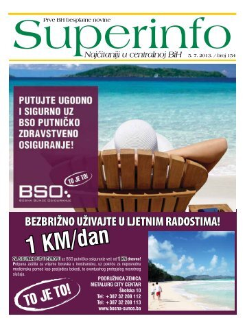 1 KM/dan - Superinfo