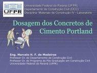 GRUPO 7 USINA DE CONCRETO - DCC - Universidade Federal do ...
