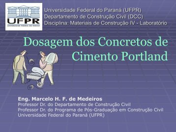 GRUPO 7 USINA DE CONCRETO - DCC - Universidade Federal do ...
