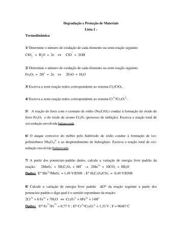 Listas Exercicios DPM - Sistemas