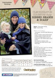 Ribbed Beanie & Scarf - Spotlight Promotions