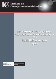 Self-Evaluation Questionnaire On Good Corporate Governance for ...