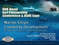 MAGTF Integration Division CDD, DC CD&I - Defense Innovation ...