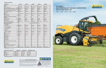 FR Series - New Holland