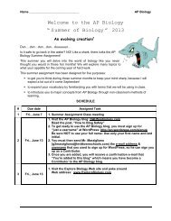 chapter 22 guided notes: the evidence for evolution - Levittown ...