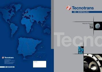 Catálogo TA - Tecnotrans