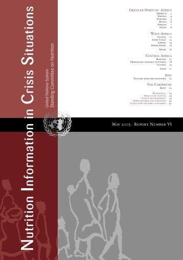 NICS Vol 6, May 2005 - United Nations