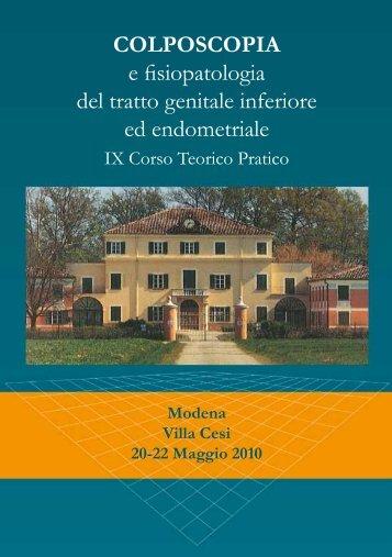 COLPOSCOPIA e fisiopatologia del tratto genitale ... - Mtsmedicale.it